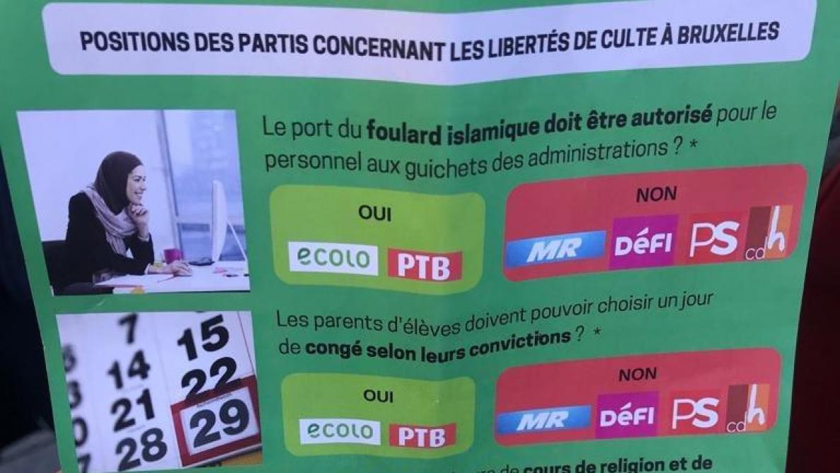 Le tract d'Ecolo, le faux pas qui trouble la campagne des verts