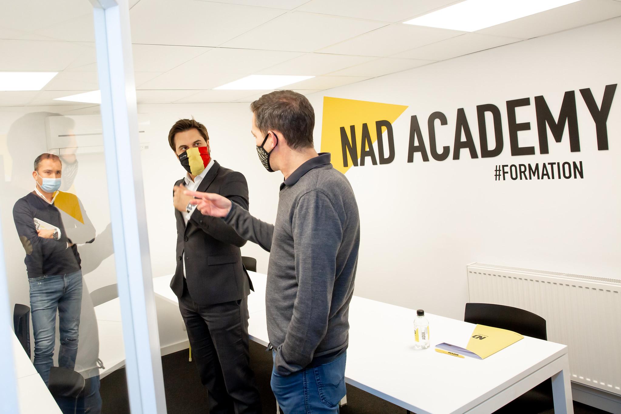 Rencontre avec les fondateurs et patrons de NIGHT & DAY à Namur
