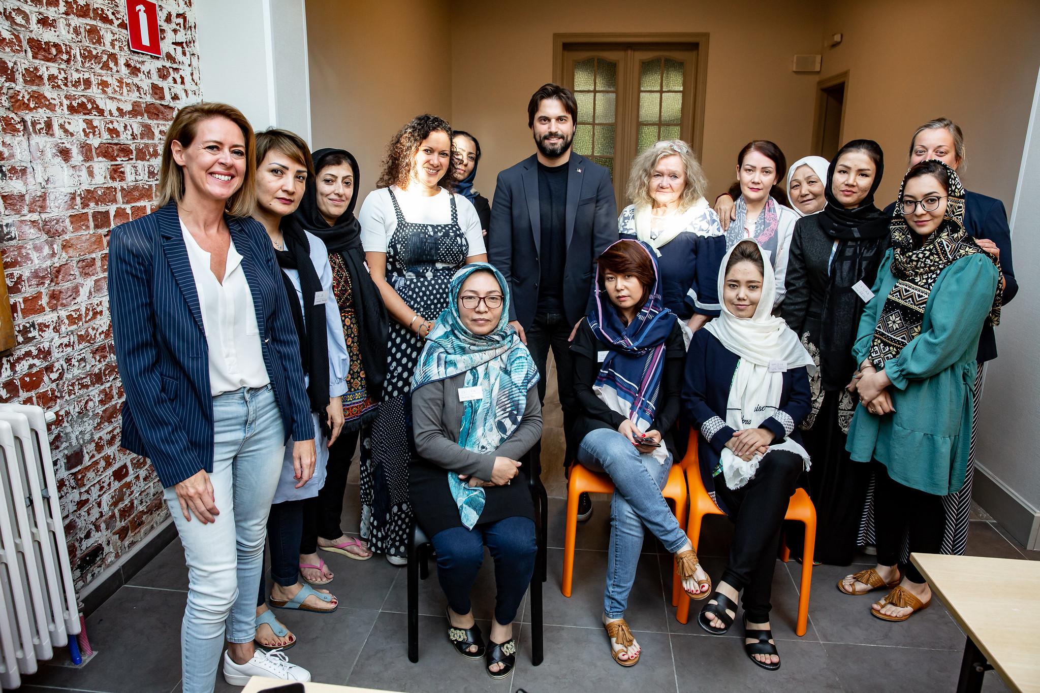 Rencontre avec des femmes réfugiées afghanes auprès de l'association Mothers for peace